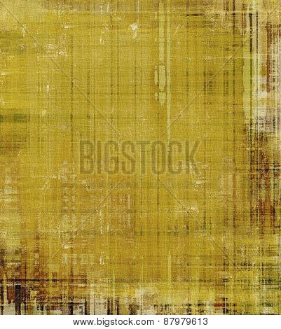 Antique vintage background. With different color patterns: yellow (beige); brown