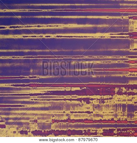Antique vintage texture or background. With different color patterns: purple (violet); blue; brown