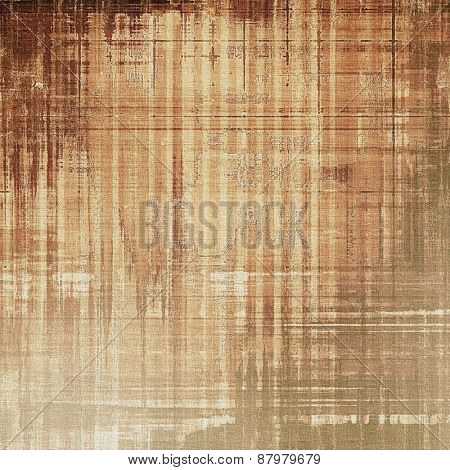 Colorful designed grunge background. With different color patterns: yellow (beige); brown; gray