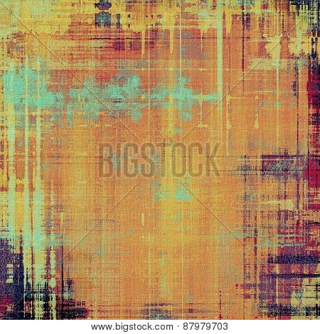 Ancient grunge background texture. With different color patterns: purple (violet); yellow (beige); cyan; pink