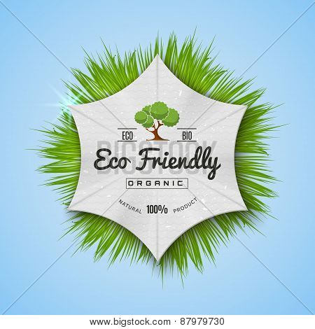 Organic Natural Ecology stickers