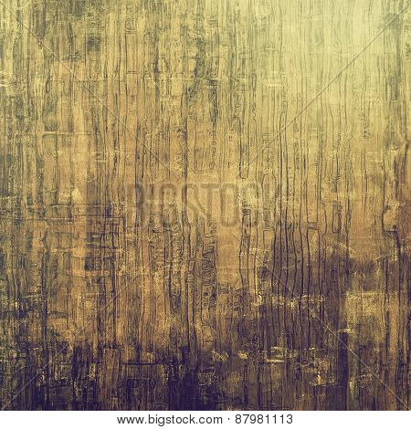 Beautiful antique vintage background. With different color patterns: yellow (beige); brown; gray