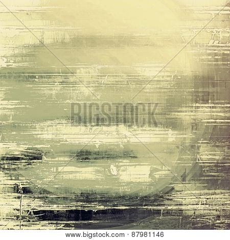 Vintage old texture for background. With different color patterns: yellow (beige); brown; gray; black