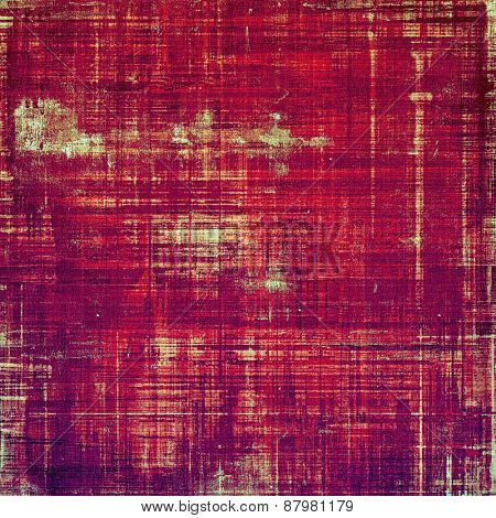 Ancient grunge background texture. With different color patterns: purple (violet); red (orange); pink