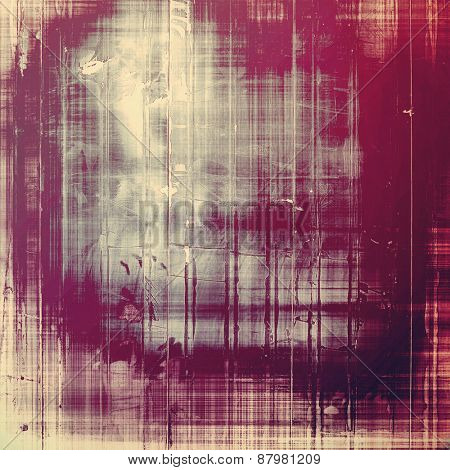 Colorful designed grunge background. With different color patterns: purple (violet); gray; pink
