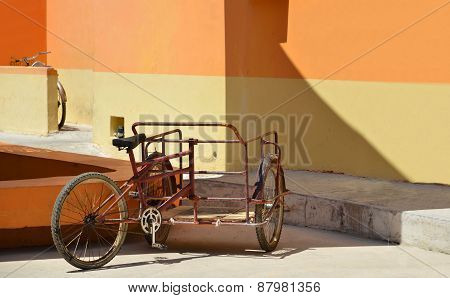Three Weel Bicycle In Mexico