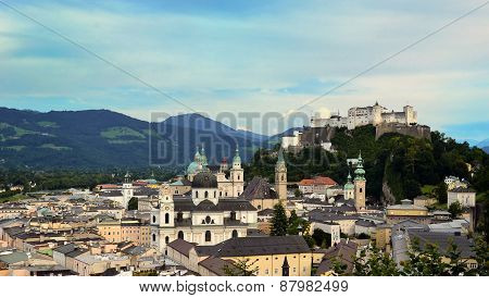 Historic City Of Salzburg
