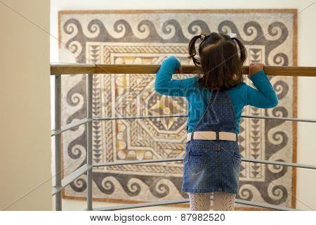 Geometric Roman Mosaic