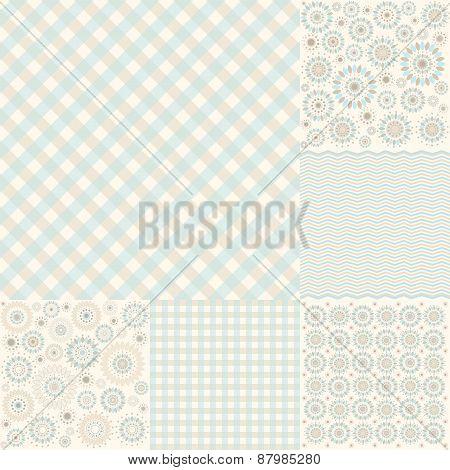 Seamless Geometric Pattern Arabesque, Cell - Illustration