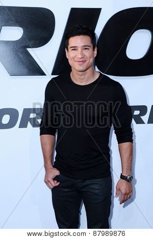 LOS ANGELES - FEB 1:  Mario Lopez at the
