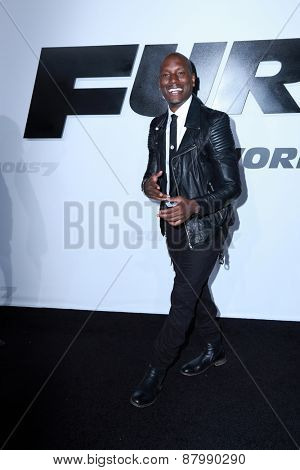 LOS ANGELES - FEB 1:  Tyrese Gibson at the