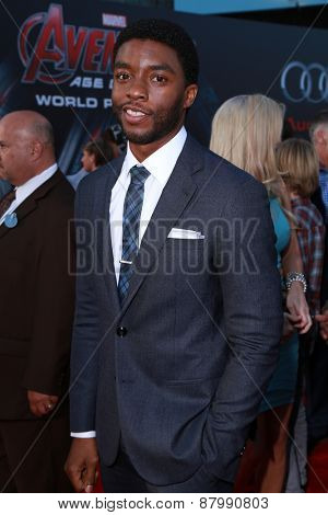 LOS ANGELES - FEB 13:  Chadwick Boseman at the