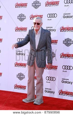 LOS ANGELES - FEB 13:  Stan Lee at the