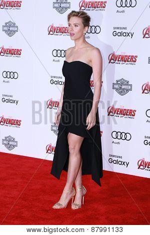 LOS ANGELES - FEB 13:  Scarlett Johansson at the