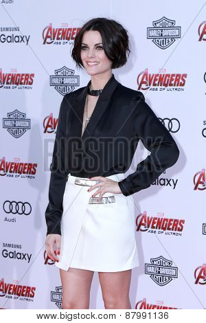 LOS ANGELES - FEB 13:  Jaimie Alexander at the