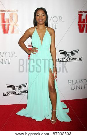 LOS ANGELES - FEB 13:  Keke Palmer at the