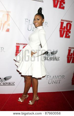 LOS ANGELES - FEB 13:  Nafessa Williams at the