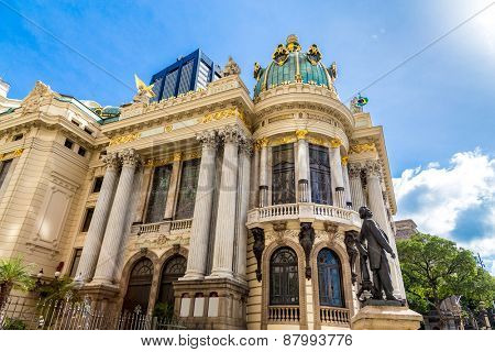 Opera House (Teatro Municipal) in Rio de Janeiro, Brazil