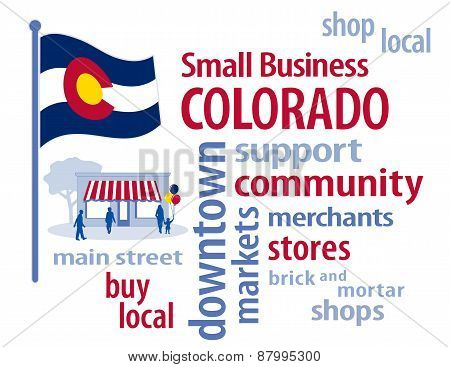 Colorado Flag, Small Business