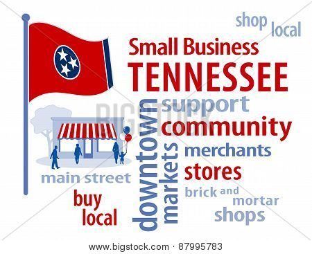 Tennessee Flag, Small Business
