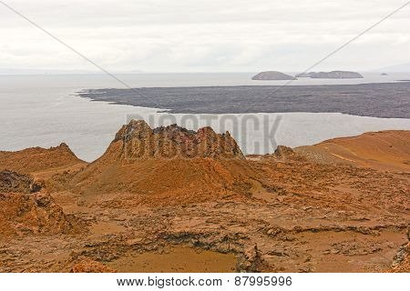 Spatter Cone On A Volcanic Island
