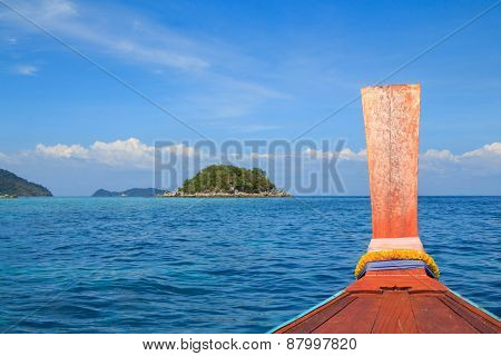 Head Long Tail Boat In Andaman Sea