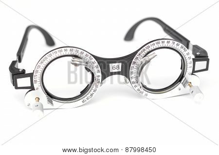 trial frame - eyeglasses equipment