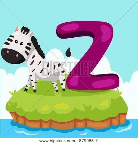 Illustrator of Letter 'Z is for zebra'