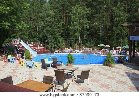 Swimming pool in the Sanatorium Russia