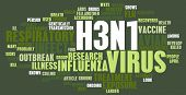 picture of avian flu  - H3N1 Concept as a Medical Research Topic - JPG