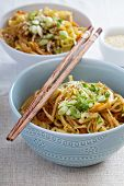 pic of stir fry  - Stir fry with rice noodles - JPG