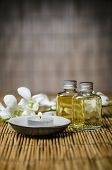 picture of massage oil  - Macro of spa product - JPG