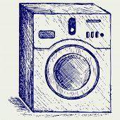 pic of washing-machine  - Washing machine - JPG