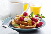 foto of french toast  - French toasts with cinnamon - JPG