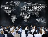 picture of e-business  - E - JPG