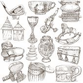 image of freehand drawing  - OBJECTS  - JPG