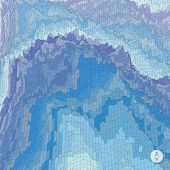 image of arctic landscape  - Abstract landscape background - JPG