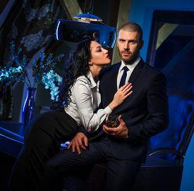 foto of office romance  - Couple indoors - JPG