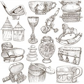 picture of freehand drawing  - OBJECTS  - JPG