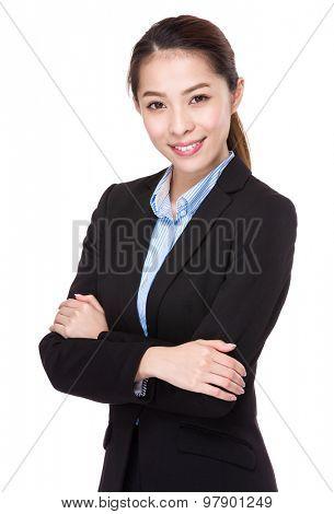 Businesswoman accountant
