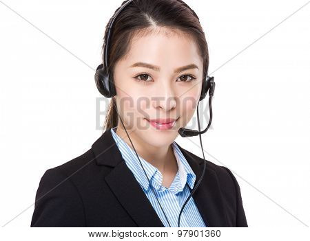 Telemarketing supportor