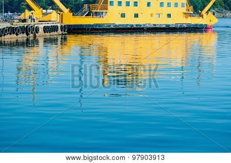 Reflections Of Ferry