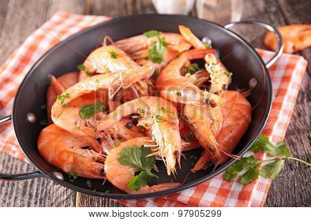 casserole with shrimp