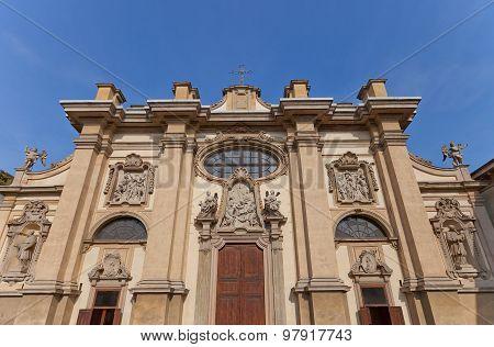 Santa Maria Della Passione Church In Milan, Italy