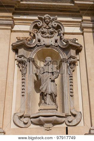 Charles Borromeo Statue  In Milan, Italy