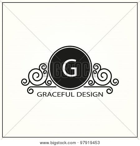 Decorative Monogram