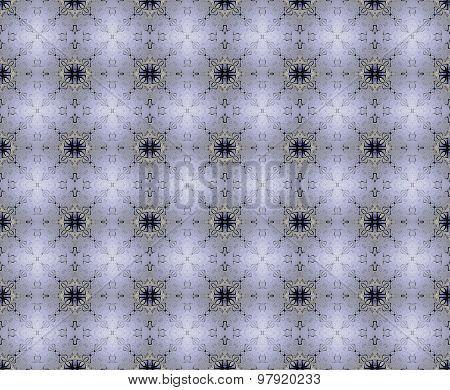 Seamless diamond pattern gray blue