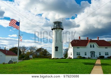 Chatham Lighthouse at Cape Cod, Massachusetts.