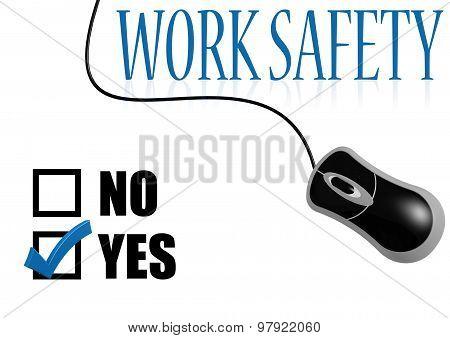 Work Safety Check Mark