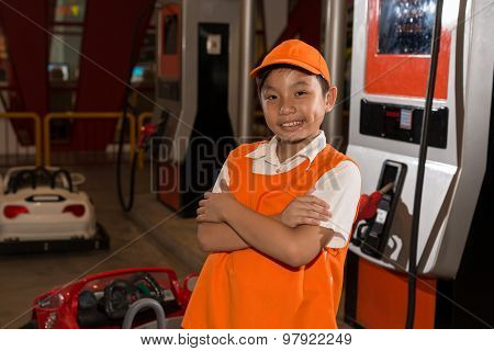 Gas Station Worker